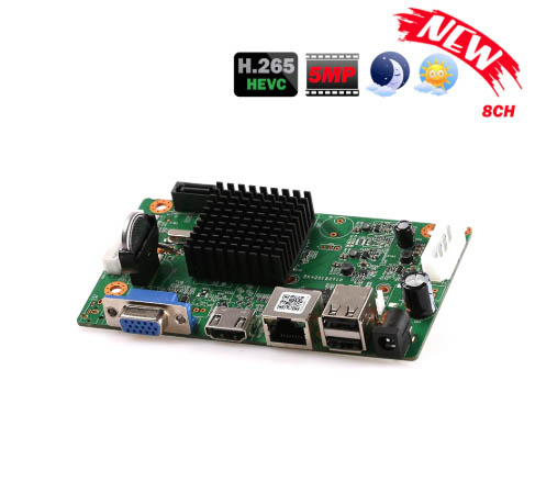 8 channel network video recorder board review